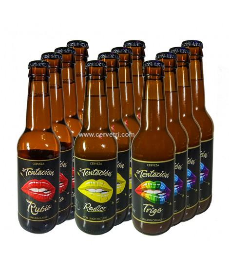 pack cervezas la tentación