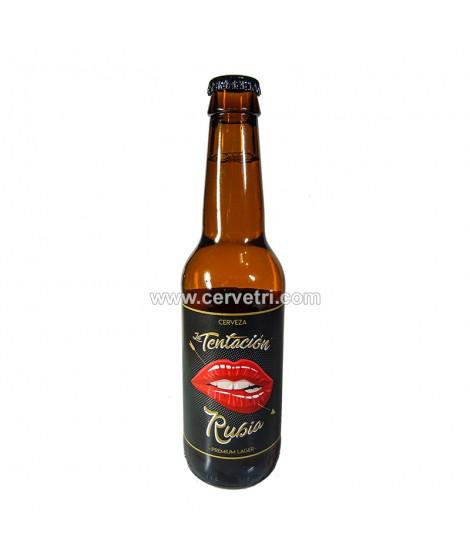 cerveza la tentacion rubia premium