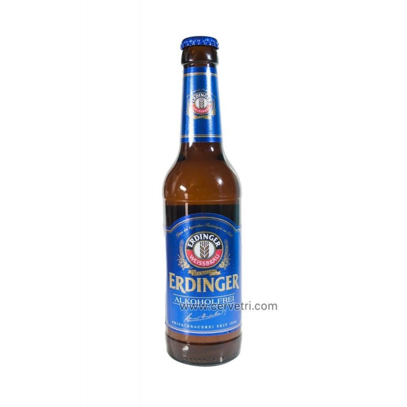 Erdinger sin alcohol 33 cl.