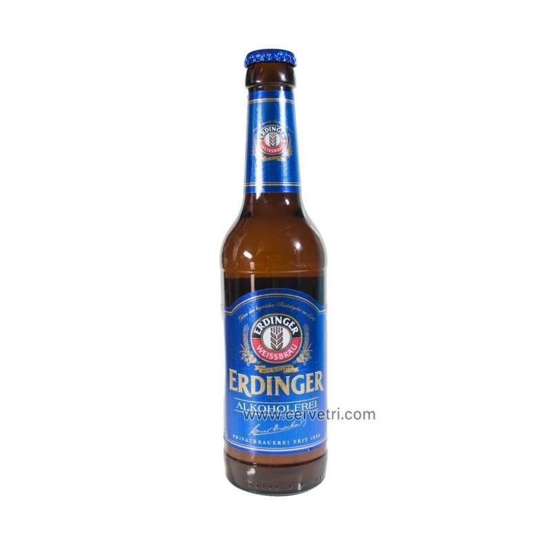 Erdinger sin alcohol 33 cl.