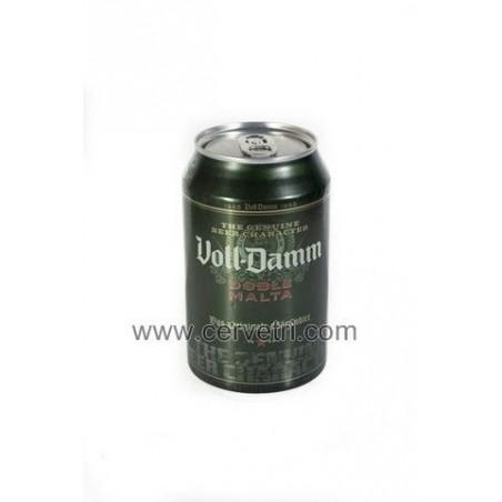 Cerveza fuerte Voll-Damm Lata 33 cl.