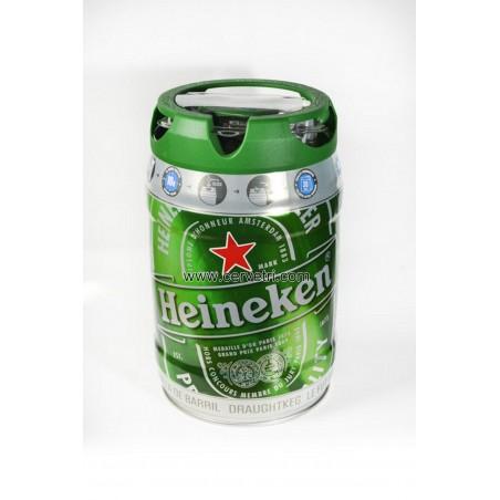 Heineken barril 5 L.
