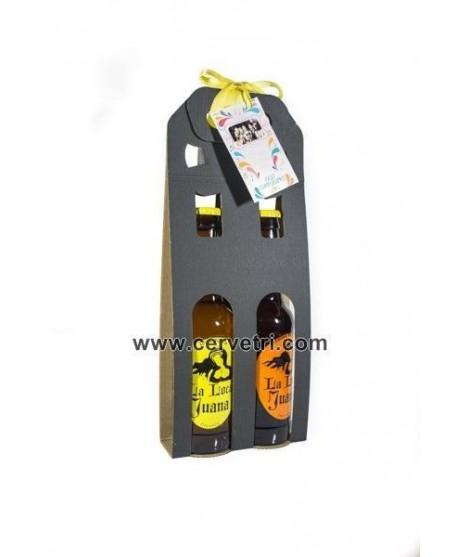 Regalo evento Pack 2 cervezas artesanas varias 33 cl