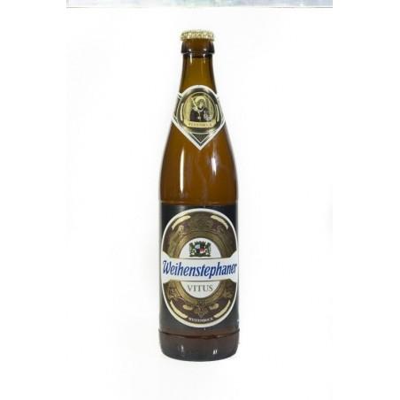Weihenstephan vitus  Weizenbock. Cerveza alemana botella 50 cl.
