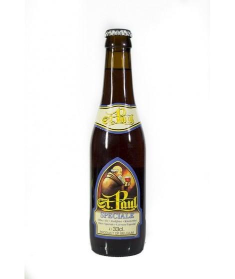 Cerveza St. Paul speciale, botella 33 cl