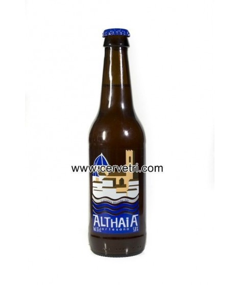 CERVEZA ARTESANA ALTHAIA  BLONDE ALE 33 CL. ALTEA- ALICANTE
