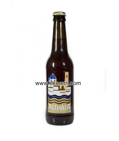 CERVEZA ARTESANA ALTHAIA BROWN ALE 33 CL. ALICANTE