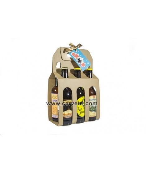 CERVEZAS ARTESANAS pack iniciación. 6 botellas de 33 cl.