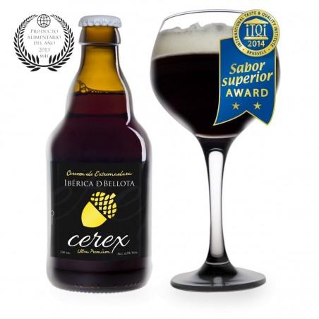 Cerveza especial CEREX Iberica de Bellota  33 cl.