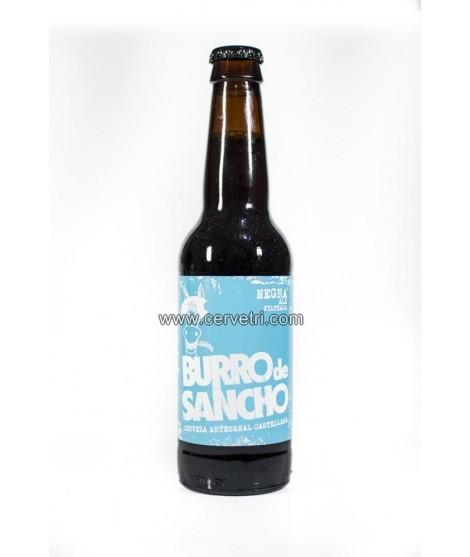 Cerveza Burro de Sancho Negra 33 cl.
