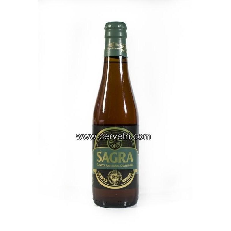 Cerveza artesana Sagra Premium 33 cl. Toledo españa