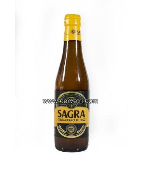 Cerveza Artesana Sagra  Blanca de Trigo 33 cl. Toledo-Espana
