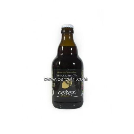 Cerveza especial CEREX Iberica de Bellota  33 cl. Mejor cerveza internacional al sabor.