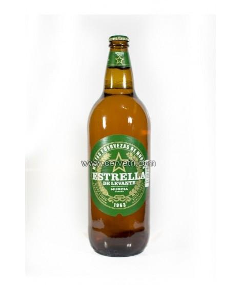 Cerveza Estrella de Levante 1 L.
