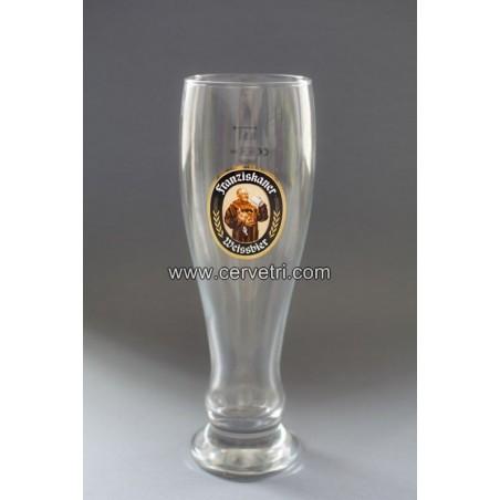 Vaso original cerveza Franziskaner 50 cl.