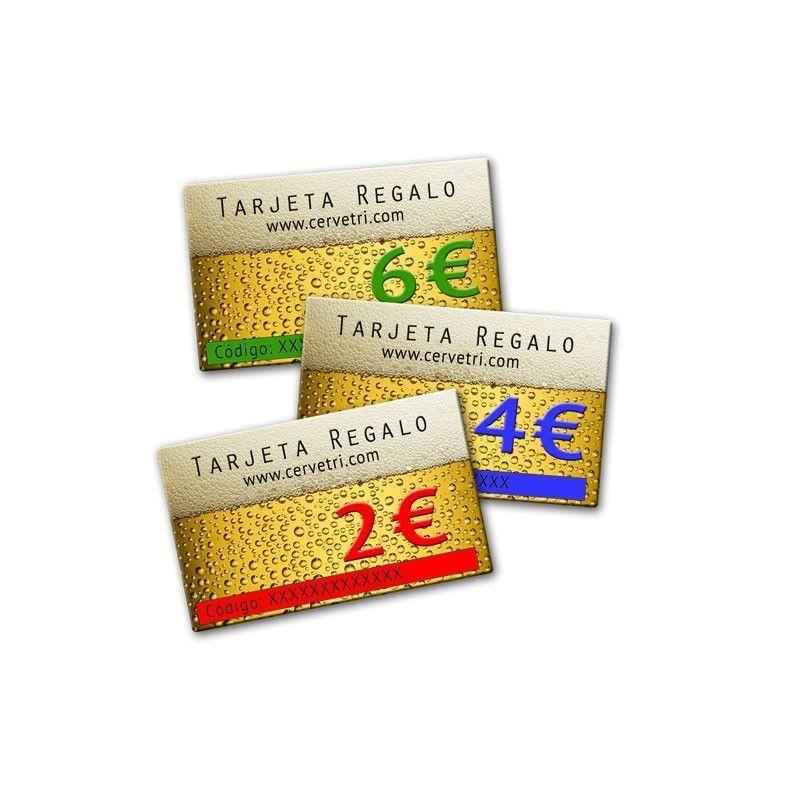 TARJETA REGALO DESDE 2€.