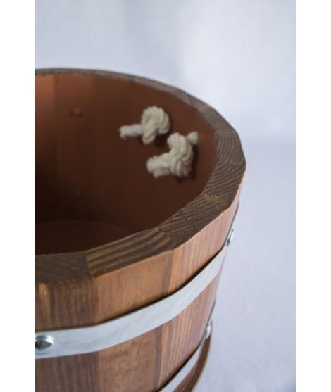Barril enfriador de cerveza + 6 cervezas artesanas 33cl.