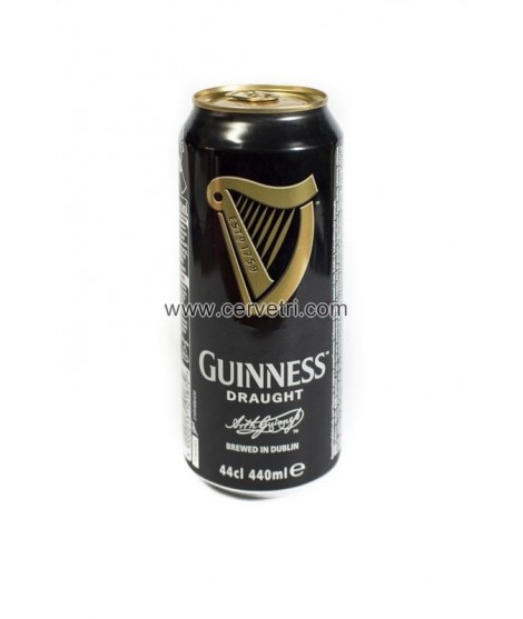Cerveza Guiness Draught Lata 44 cl.