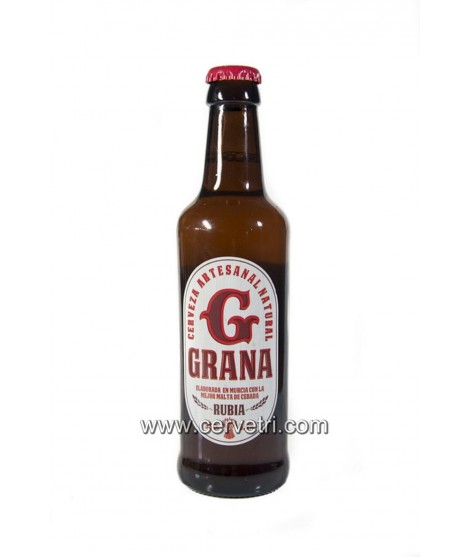 Cerveza Grana Rubia 33 cl.
