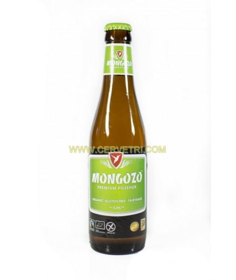Cerveza sin gluten Mongozo Premium Pilsen 33 cl