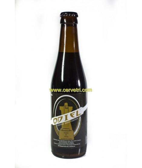 Cerveza negra de trigo Odiel 33 cl.