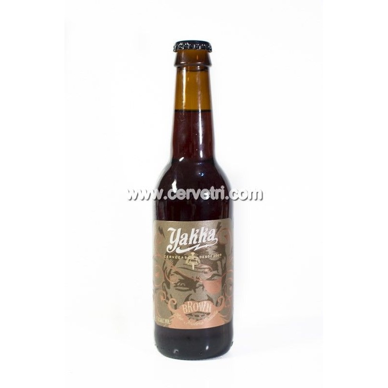 Cerveza Yakka Brown 33 cl.