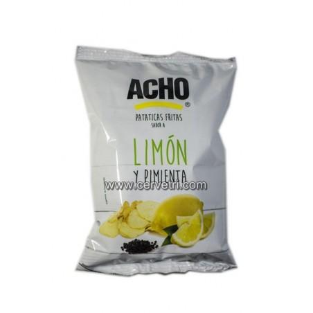 Patatas Fritas Acho Limon y Pimienta 130 grs