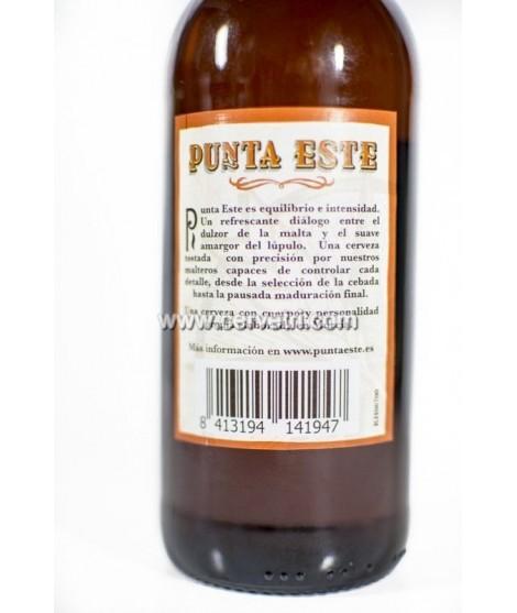 Cerveza Punta Este 25 cl.