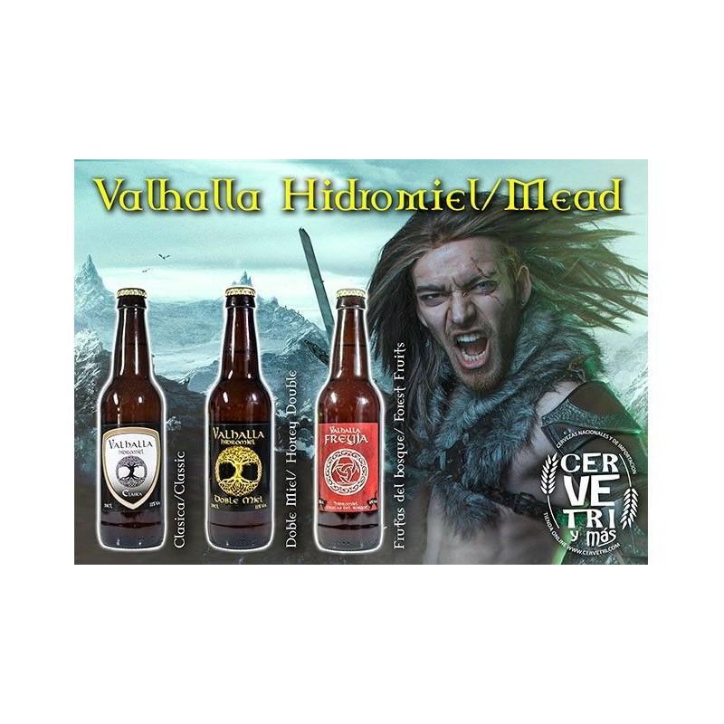 Pack 12 Hidromiel Valhalla 33 cl.