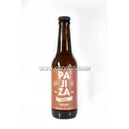 Cerveza artesana Rubia Trinitaria Pajiza 33 cl. Torre-Pacheco.Murcia