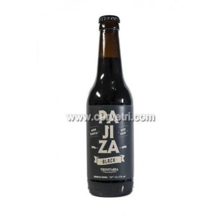 Cerveza Pajiza Black, 33 cl.