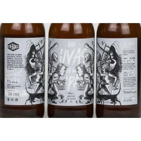 Cerveza YAKKA  Uvas de la Ipa 33 cl a 3,20€
