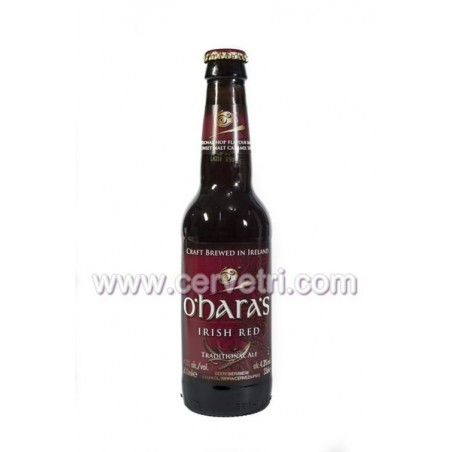cerveza O´hara´s Irish Red 33 cl.