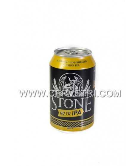 Cerveza Stone Go To IPA Lata 33 cl.