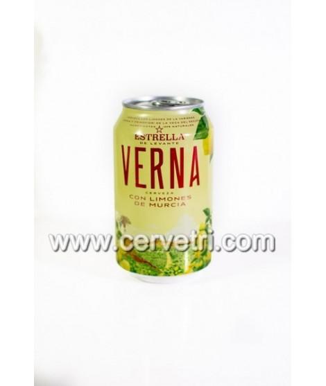 Lata Cerveza Verna 33 cl.