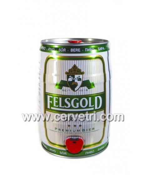 Barril de cerveza 5 L. Felsgold-Alemania