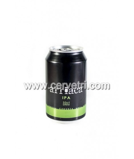 Cerveza ARRIACA IPA  Lata 33 cl.