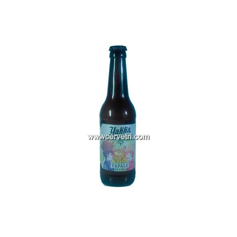 Cerveza artesana Yakka Yapale 33 cl Murcia. España