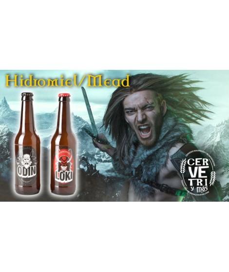 Pack de Hidromiel Odin y Lucki 33 cl.