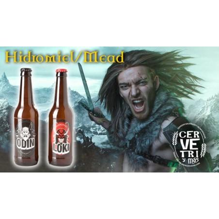 Pack de Hidromiel Odin y Loki 33 cl.