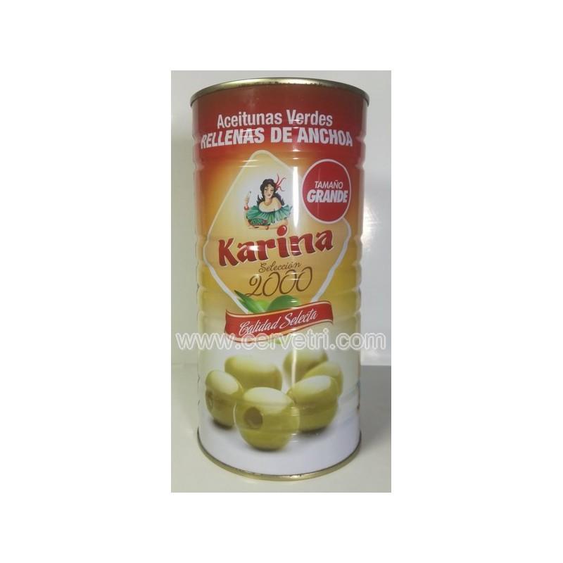 Aceitunas Verdes Rellenas de Anchoa KARINA