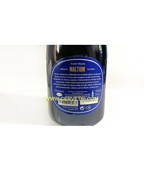 Cerveza Maltium 75 cl. jumilla
