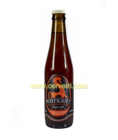 CERVEZA POSTIGUET ENGLISH IPA 33 cl.