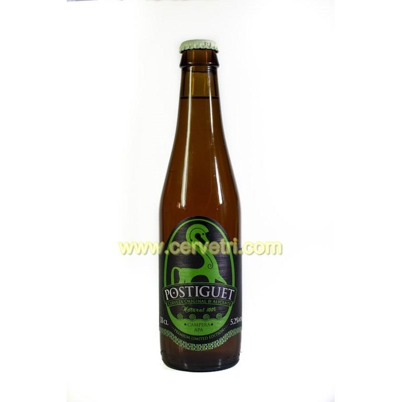 Cerveza artesana Postiguet Campera 33 cl.
