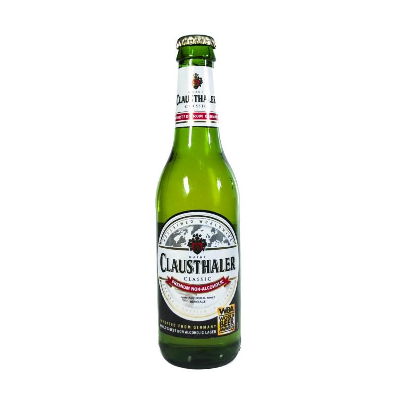 Cerveza sin alcohol Clausthaler