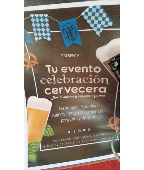 evento, cumpleaños, cervezas, regalo