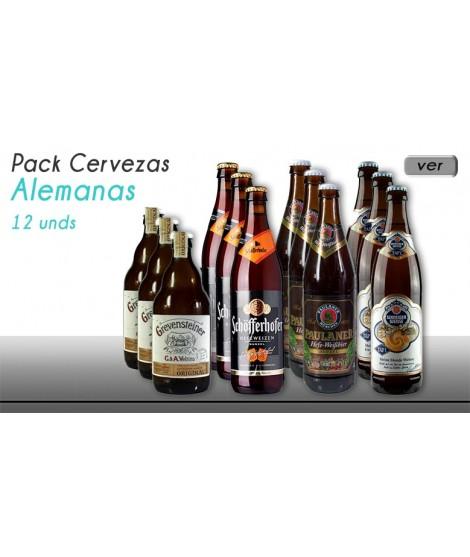 Cervezas alemanas pack 12...