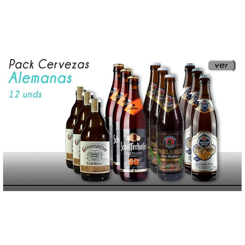 Pack cervezas alemanas octoberfest