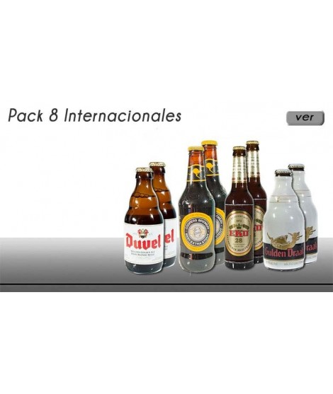 Pack de cervezas especiales...