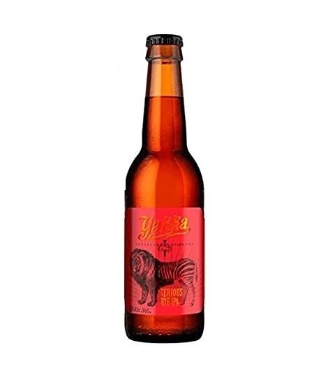 Cerveza Yakka Rye Ipa 33 cl.